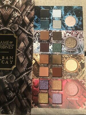Urban Decay Game Of Thrones Eyeshadow Pallet Authentic New