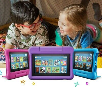 All New Amazon Fire 7 Kids Edition Tablet 16GB 7 Inch Display Latest 2019 Model