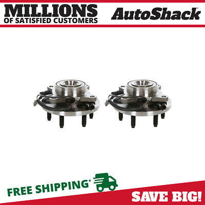 Front Hub Bearing Assembly Pair for 2009 2010 2011 Ford F-150