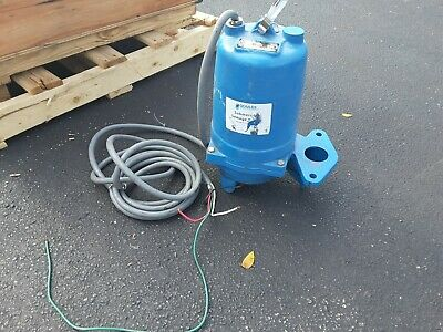 GOULDS WS1034BF NEW 1 HP Sewage Ejector Pump 460VAC 1750rpm 460v  NOS SALE $479