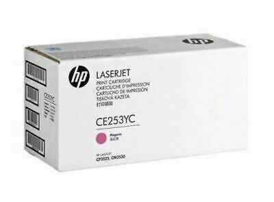 HP CE253YC CE253A 504A Magenta High Yield Contract Toner Genuine OEM Sealed Bo