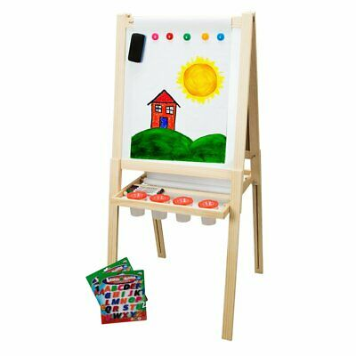 Children's Wood Easel 2 w/ Accessory Pack First Impressions