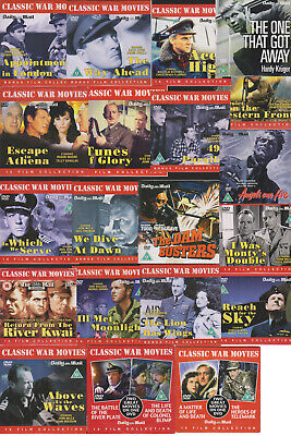 Classic War films / movies Region 2 Pal DVD --- Select title from options