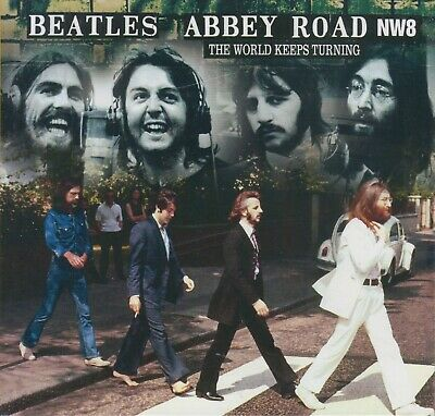 """The Beatles """" Abbey Road Nw8 - The World Keeps Turning, Cd Digipack"""""""