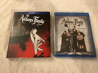(Brand New Sealed) The Addams Family (1991) Bluray W Slipcover Oop