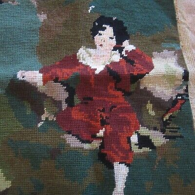 Finished Tapestry Art MasterPiece Upcylce Fabric Upholstery Bags etc. Penelope