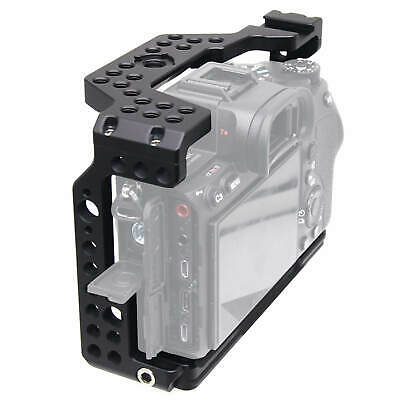 Metal Camera Cage Stabilizer with Arca-Swiss Quick Release Plate for Sony a7R IV