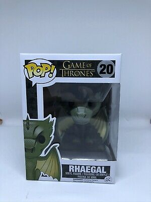 Funko Pop! Game of Thrones #20 Rhaegal VAULTED with Pop Protector