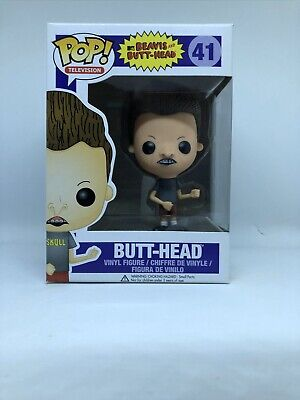2013 Funko Pop MTV Beavis and Butt-Head: Butt-Head Vinyl Figure 41 Vaulted NEW