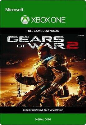 Gears of War 2 Xbox one/360 Digital code 24/7 instant delivery GLOBAL