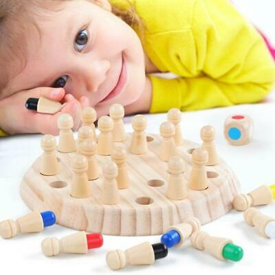 Kids Wooden Memory Match Stick Chess Game Fun Block Board Game Educational Favor