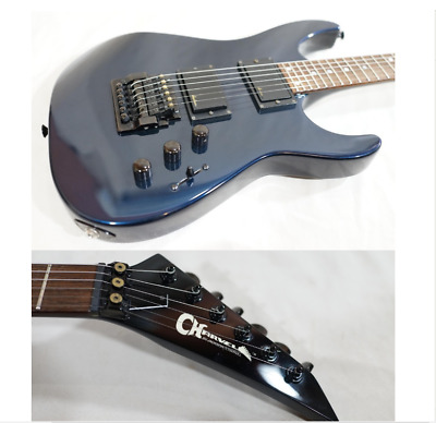 80's Charvel by Jackson MODEL-5 MIJ Soloist Navy Metallic Electric Guitar