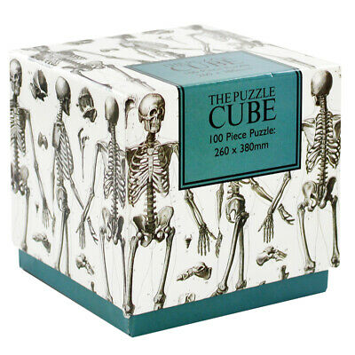 Skeleton 100 Piece Jigsaw Puzzle, Toys & Games, Brand New