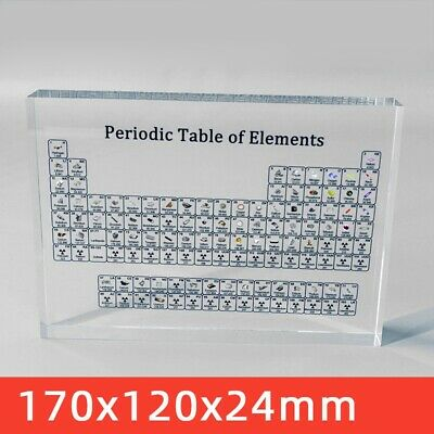 Acrylic Periodic Table Display of 83 Elements Gifts