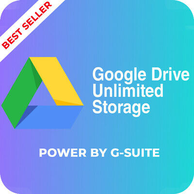 Google Drive ACC Unlimited Storage Premium Life time Support with Warranty