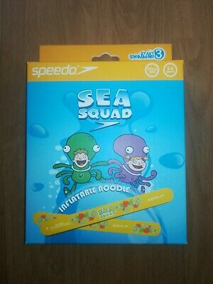 Swimming Aid Speedo Sea Squad Kids Inflatable Noodle Pool Toy NEW