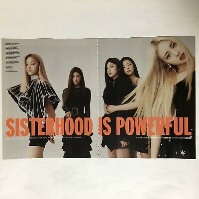 ITZY Cuttings 10Pages Magazine Clippings VOGUE Korea January 2020 K-POP Star