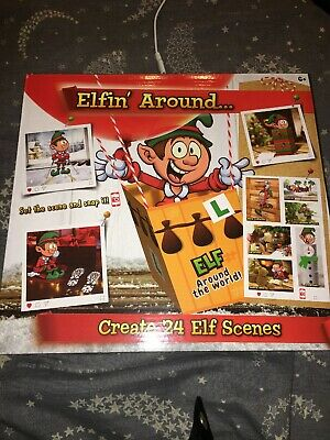 Elf props -24 activities for Christmas -accessories / pack on the shelf - FAST P