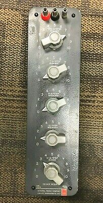 General Radio Company 1432-N Decade Resistor
