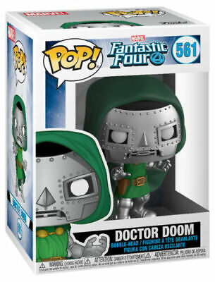 Funko Pop Doctor Doom Dr Victor Fantastic Four 4 Marvel Comics w/ Case IN STOCK