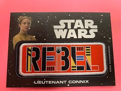 Journey To Star Wars The Rise Of Skywalker Rebel Patch Jp-Kc 02/99 Connix