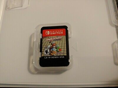 Overcooked Special Edition (Nintendo Switch 2018) Cartridge in Case No Artwork