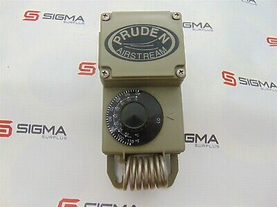 Pruden TF115-009 Airstream Line Voltage Mechanical Thermostat 40-110F