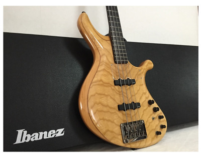 Ibanez Grooveline G104 Natural Electric Bass Guitar with Hard Case