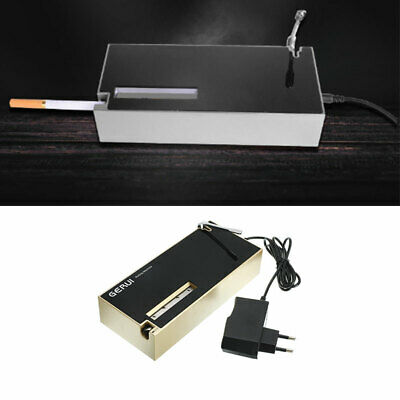 Black Automatic Electric Cigarette Rolling Machine Tobacco Injector Maker Roller