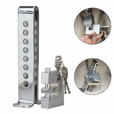 Anti-Theft Auto Stainless Steel Clutch Lock Vehicle Security Car Brake  8 Holes