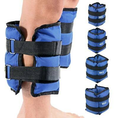 Wrist & Ankle Weights Leg Strap Resistant Adjustabls Strength 3KG, 4KG, 5KG,6KG