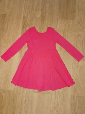 Girls M&S marks and Spencer red Christmas Dress 2-3 Years