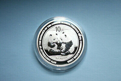 2009 30TH ANNIVERSARY SILVER PANDA 1 OUNCE .999 Fine ~NOW ON SALE~!