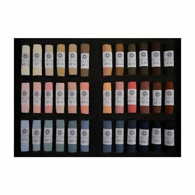 Unison Artist Quality Soft Pastels Portrait Set of 36 Colours