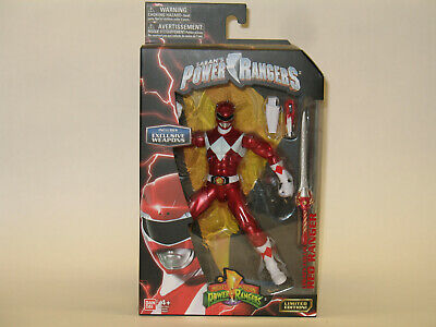 neuf jouet bandai power rangers auto morphing red ranger legacy collection