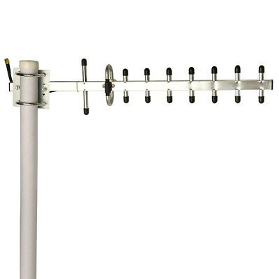 NEW D-LINK ANT24-1201 Yagi  Antenna Gain Outdoor 2.4GHz 12dBi RP-SMA WiFi Router