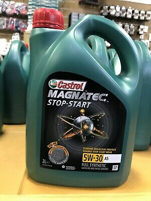 Castrol Magnatec Stop-Start 5W-30 A5 Fully Synthetic Engine Oil 2L