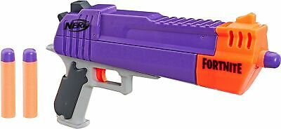 New NERF Fortnite HC-E MEGA Dart Blaster Hand Cannon Boy's Toy Gun Foam Darts