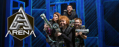 5 FREE GAME passes for Laser Quest Any Location!!  FREE SHIPPING