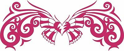 Butterfly Tribal Heart Insect Animal Car Truck Laptop Window Vinyl Decal Sticker