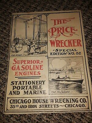 Chicago House Wrecking Superior Engine Catalog Marine Hit Miss