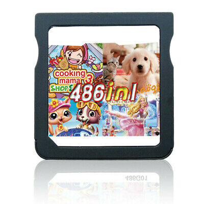 486 in 1 NDS Games Cartridge Gaming for Nintendo DS Lite DSi 3DS 2DS Girl Games