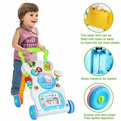 BOUNCER ROCKER ACTIVITY TOY NEW SNOW FLAKE WALKER MUSICAL TRAY //BEIGE