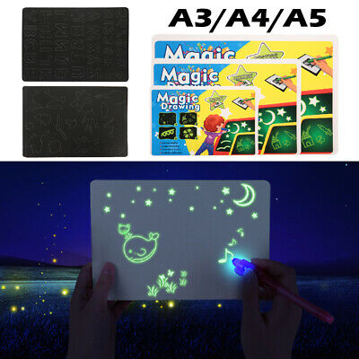 A3 A4 A5 Artist LED Kid Drawing Tracing Table Stencil Light Gifts Magic Painting