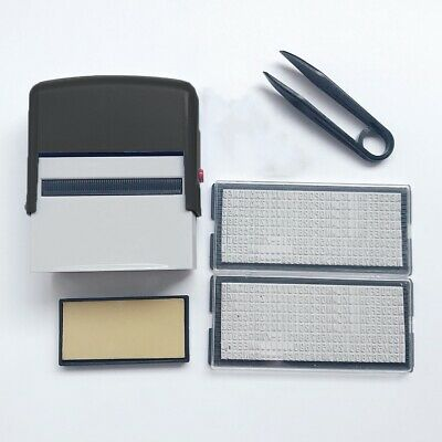 Rubber Stamp Kit Self Inking Business Address Name Personalise 264Templet DIY