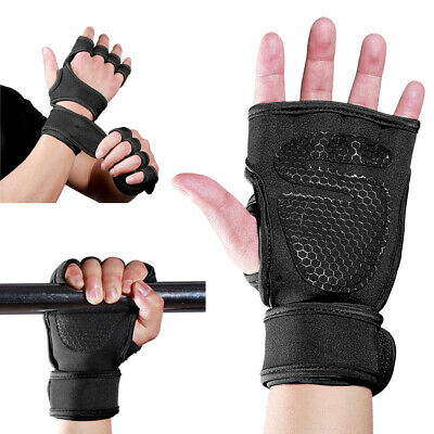 Men Women Weight Lifting Gloves Body Building Training GYM Exercise Workout 1PC