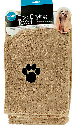 """Large Super Absorbent Dog Drying Towel 44x28"""" Lot of 12 Ship Free"""