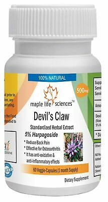 Devil's Claw extract Capsules 5% Harpagoside Harpagophytum Procumbens extract