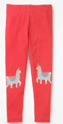 Mini Boden girls leggings  applique age 4 - 5 years NEW pink unicorn