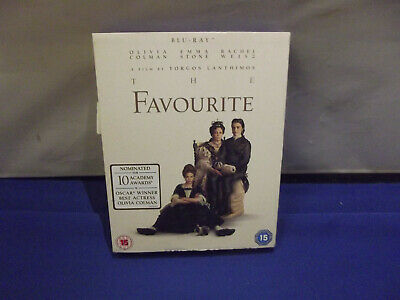 The Favourite Blu-ray (2018) - olivia coleman